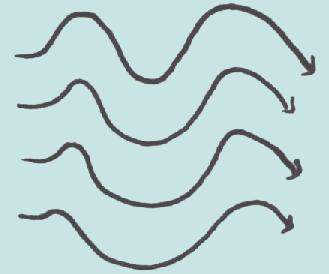 deux objet ayant une trajectoire rectiligne